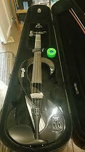 stagg electric violin- great condition-$200, trade for sax