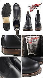 Red Wing Beckman Chelsea Boot Black size 9D