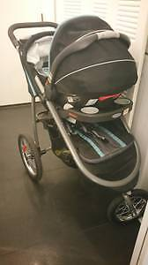 Strollers and car seat set for sale