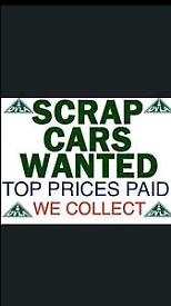 Scrap cars wanted, citroen, peugeot, honda, Mazda etc cash waiting