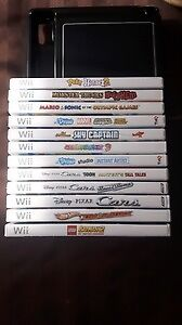 11 Nintendo Wii Games and Draw Pad