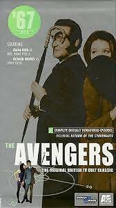 The Avengers box set of 3 VHS