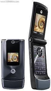 New Motorola W510 Unlocked Quad Band, Bluetooth music phone