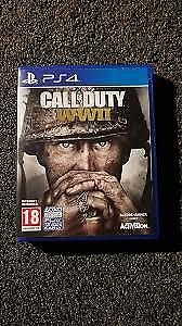 Call of Duty WW2 PS4 for 30$