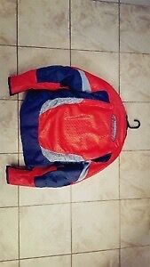 Large red  Icon bike jacket