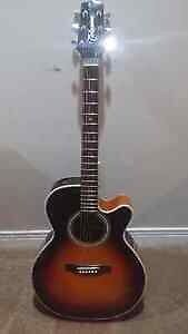 Takamine FP450SMC-SB - Electric Acoustic w/ Case