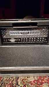 Mesa boogie dual rectifier with road case