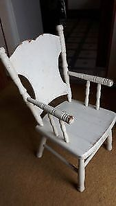 """NICE ANTIQUE SOLID WOOD CHILDREN'S CHILD'S CHAIRS,  """"HOOP BACK"""" Cambridge Kitchener Area image 6"""