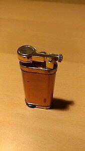 Vintage 19t0s copper goldplated lighter