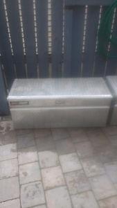Aluminium truck box/job box