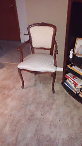 Antique Style Ivory Sitting room chair