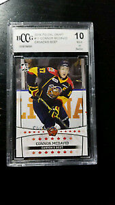 two graded 10 connor mcdavid  cards