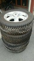 Like New Set of Sailun Winter Tyres (215/60R15)-Just 5 weeks old