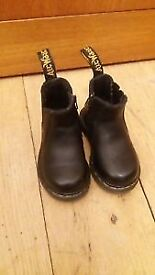 Dr Martens Toddler Chelsea Boots - Black Size 4 Children's.