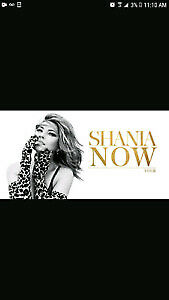 Shania Twain Save $80 on  Floor Tickets