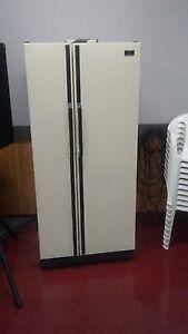 Upright Hotpoint Fridge & freezer side by side