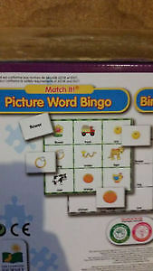 Word/Picture Bingo Game (Unopened and Sealed!) Kingston Kingston Area image 2