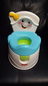 Fisher-Price Learn to Flush Potty - NEW