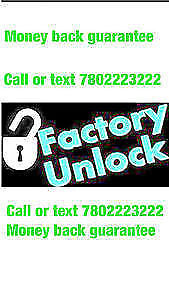 cell phone unlocking service SAMSUNG $20 ,LG $25 7802223222