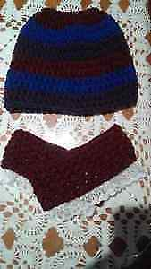MESSY BUN HAT AND BOOT CUFFS