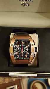 New in box TW Steel CEO Goliath chronograph watch