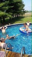 Réparation de piscine