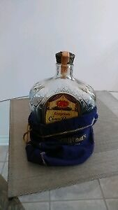 Vintage and rare liquor collectable bottles