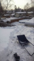 Snow Shoveling + Rooftop Snow Removal  (on call or seasonal)