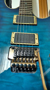 Guitar w/EMG 81/85 & Floyd Rose London Ontario image 3