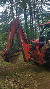 Woods BH9000-1 Backhoe implement