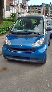 smart 2 for 2 2009 tres bas milage 43000 km 6800 ferme