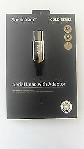 Sandstron Gold Series Aeriel Lead With Adaptor