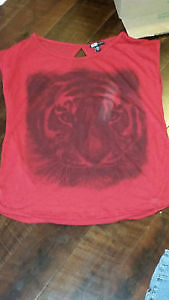 Red Tiger Shirt for Sale