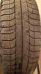 GOOD SET OF 2 MICHELIN X ICE P-185-65-R-15 WINTER RADIALS