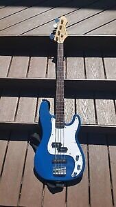 Barracuda 4 string bass with EMG SELECT pickups
