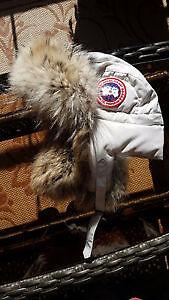 Canada Goose Arctic Program bomber style fur hat