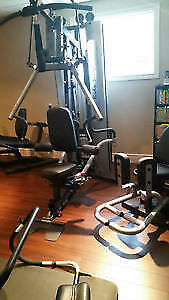 BODY-SOLID G10B BI-ANGULAR GYM W/ INNER/OUTER THIGH ATTACHMENT Windsor Region Ontario image 8