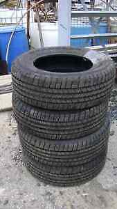BRAND NEW ALL SEASON TRUCK TIRES VARIOUS SIZES MUST SELL NOW!