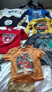 Various bags of size 5 boys clothing. $12 a bag