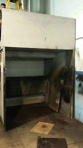 """Used spray booth and 24"""" stack kit"""