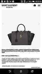 NEVER USED Small Monogram Saint Laurent OVER 2,000 OFF !