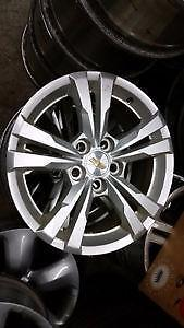"17"" OEM Chevy Equinox / GMC Terrain alloy rims 5x120 -- $500 set of 4 / 225 65 17 tires in stock"