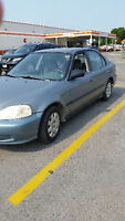 1999 Honda Civic Sedan safetied and e tested