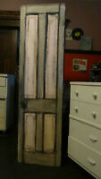 "antique 103yr old solid fir ""Dakota"" style 4panel Pantry Door"