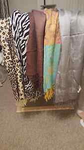 Different Patterned Scarves- Good Condition Peterborough Peterborough Area image 1