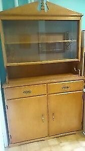 REDUCED for Saturday pickup  Antique NL Hutch