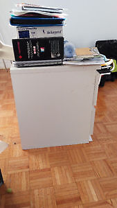 IKEA side table with two drawers -- sturdy
