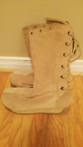 Suede Women's Boots size 11. High quality