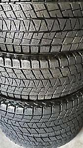 225/50R17	Bridgestone Blizzak 2 used winter tires 95%tread left
