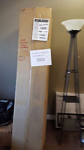 "New still in sleeve 11"" Mazin king size memory foam mattress"